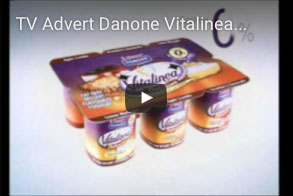TV-Advert-Danone-Vitalinea-Brand